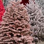 Flocked Christmas Tree — Stock Photo #17460555