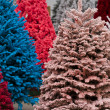 Flocked Christmas Tree — Stock Photo #17460607