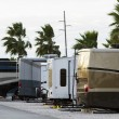 RV campsite — Stock Photo