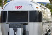 RV campsite — Stock Photo