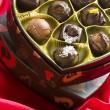Trufas de chocolate — Foto Stock