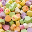 Heart candies — Stock Photo