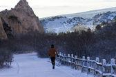 Morning run — Stock Photo