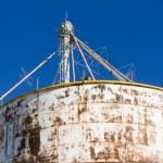 Feed silos — Stock Photo