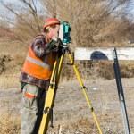 Land surveyors — Stock Photo #20172117