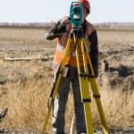 Land surveyors — Stock Photo #20172149