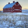 Red barn — Stockfoto #20172171