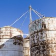 Feed silos — Stock Photo