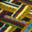 Stock Photo: Rug hooking
