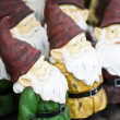Garden gnomes — Stock Photo
