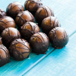 Chocolate truffles — Stock Photo #21245015