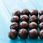 Chocolate truffles — Stock Photo #21245059
