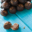 Chocolate truffles — Stockfoto #21245489