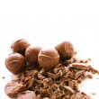 Stock Photo: Chocolate truffles