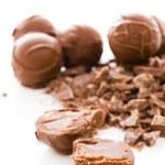 Chocolate truffles — Stock Photo #21252433