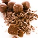 Chocolate truffles — Foto Stock #21252489