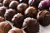 Chocolate truffles — 图库照片