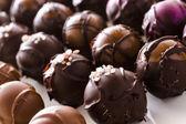 Schokolade trüffeln — Stockfoto