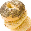 Fresh bagels — Stock Photo