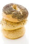 Fresh bagels — Stock Photo