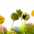Easter cake pops — Stock Photo #21594615