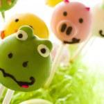 Easter cake pops — Stock Photo #21595213