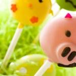 Easter cake pops — Stock Photo #21595359