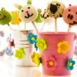 Easter cake pops — Stock Photo
