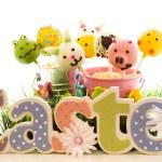 Easter cake pops — Stock Photo