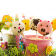 Easter cake pops — Stock Photo #21595967