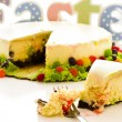 Foto Stock: Cheesecake