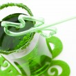 Stock Photo: Green drink