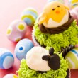 Easter cupcakes — Stock Photo #21604347