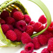 Heap of Raspberries — Stock Photo