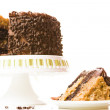 German chocolate cake — Stock Photo