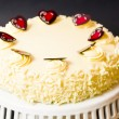 White Chocolate Cheesecake — Stock Photo