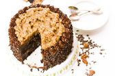 German chocolate cake — Foto de Stock