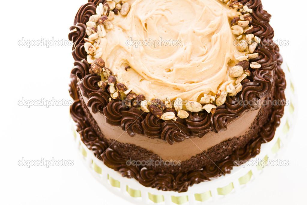 Торт из арахисового масла
