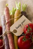 Ekologiska grönsaker — Stockfoto