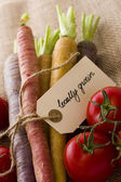 Organic Vegetables — Foto de Stock