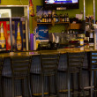 Airport bar - Stock Photo