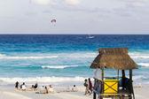Strand van de caribische zee — Stockfoto