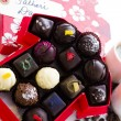 Assorted truffles — Stock Photo
