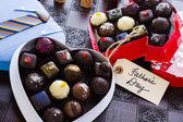 Assorted truffles — Stock Photo