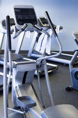 Elliptical machine — Stock Photo
