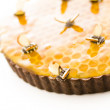 Honey tart - Stock Photo