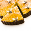 Honey tart — Stock Photo