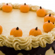 Pumpkin cake — Stock Photo