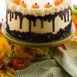 Stock Photo: Pumpkin cake