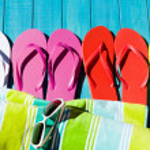 Flip flops — Stock Photo